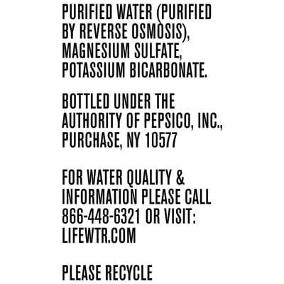 Lifewtr Premium Water 1.5 Liter 8 Ct Plastic Bottles photo