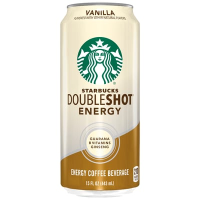 Starbucks Doubleshot® Energy Vanilla Coffee Drink 15 oz cans, 12 Pack photo