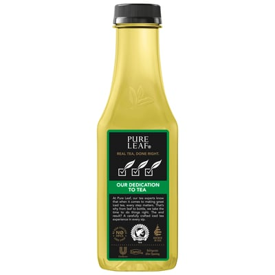 Pureleaf Green Tea Unsweetened 18.5 Fl Oz 12 Ct Bottles photo