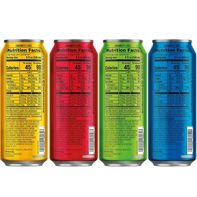 Mtn Dew Amp Game Fuel Charged Variety Pack 16 Fl Oz 12 Ct Cans photo