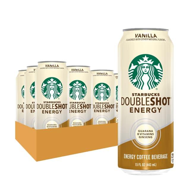 Starbucks Doubleshot® Energy Vanilla Coffee Drink 15 oz cans, 12 Pack