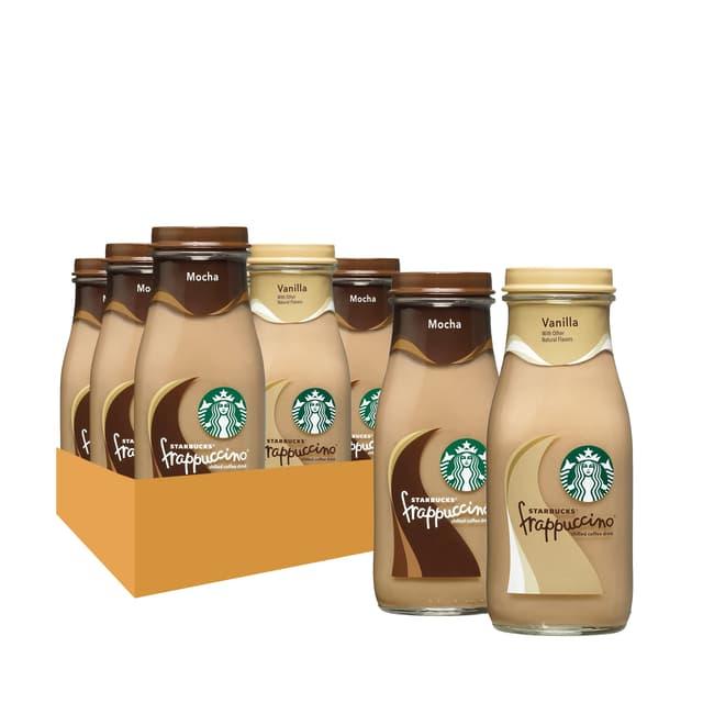 Starbucks Frappuccino Variety Pack 9.5 Fl Oz 15 Ct Bottles